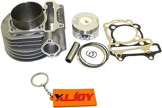 XLJOY 180cc Cylinder 61mm Big Bore Kit For GY6 125cc 150cc 1P52QMI 1P57QMJ Engine Scooter ATV