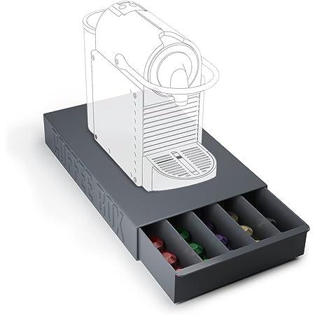 Balvi - Coffee Box boîte de Rangement pour Capsules de café et Support de Machine à café