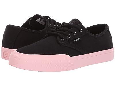 etnies Jameson Vulc LS (Black/Pink) Women