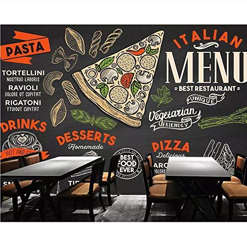 Pmhc Behang op klantspecifieke 3D Hd handgeschilderd snel restaurant van het heelal brood, de achtergrond wand-decoratiemuurschilderij bewerkt 150 x 120 cm.