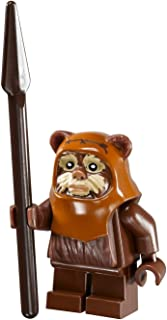 LEGO Star Wars Ewok Wicket minifigure with spear from Ewok Village (10236)