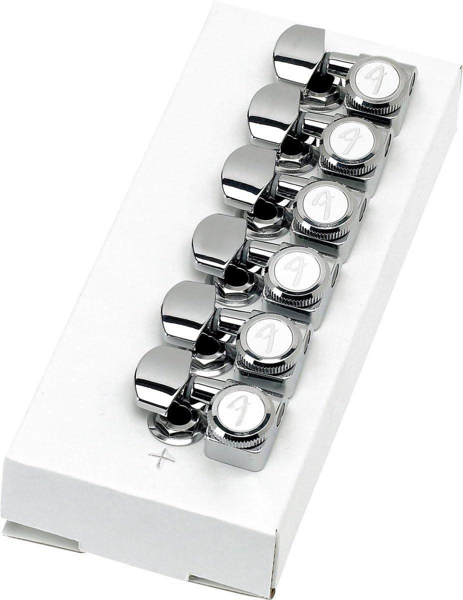 Fender 099-0818-000 M/écanique American Deluxe Strat Locking par 6 Chrome bross/é
