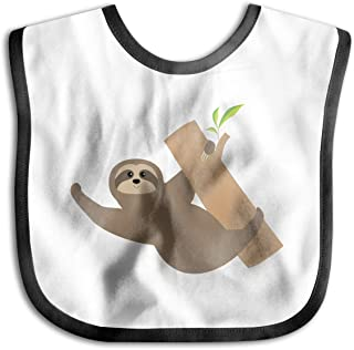 Children's Waterproof Bibs Sloth Tree Leaf Baby Skin Wrap SuperBib Babies&Toddlers
