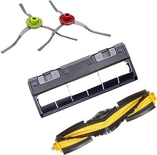 ZQALOVE Roboter-Staubsauger Seitenbürsten Hauptbürstenabdeckungs-Kit für Ecovacs Deebot OZMO 950. Roboter-Staubsauger-Teile-Zubehör (Color : Multi)
