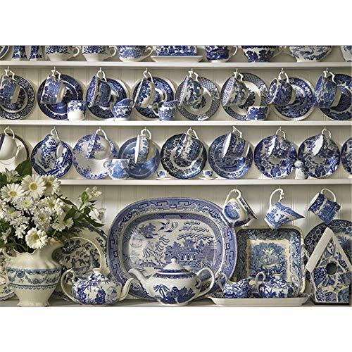 Yingxin34 Rompecabezas de 2000 Piezas Variedad de vajillas Rompecabezas Amigos Rompecabezas 2000 100x70cm