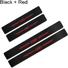 Schutzfolie Kohlefaser mit hellen Aufklebern Rot F/ür ix20 Einstiegsleisten Set!