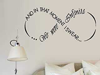 AND IN THAT MOMENT I SWEAR WE WERE INFINITE #1 ~ WALL DECAL, 13