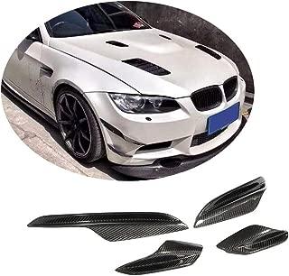 MCARCAR KIT Front Bumper Vent fits BMW 3 Series E90 E92 E93 M3 2Door 4Door 2005-2013 Factory Outlet Carbon Fiber CF Air Fender Scoop Spoiler Canard Winglets Splitter Cover Trims