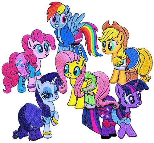 i-Patch - Patches - 0288 - Pferd - Pony - Applikation - Einhorn - Fohlen - Pferdekopf - Pferde - Hufeisen - Reiten - Aufbügler - Aufnäher - Sticker - zum Aufbügeln - Flicken - Bügelbild - Badges