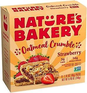 Nature's Bakery Oatmeal Crumble Bars, 240 g