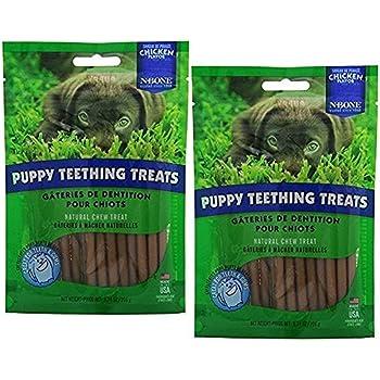 N-Bone Puppy Teething Treats(2Pack)