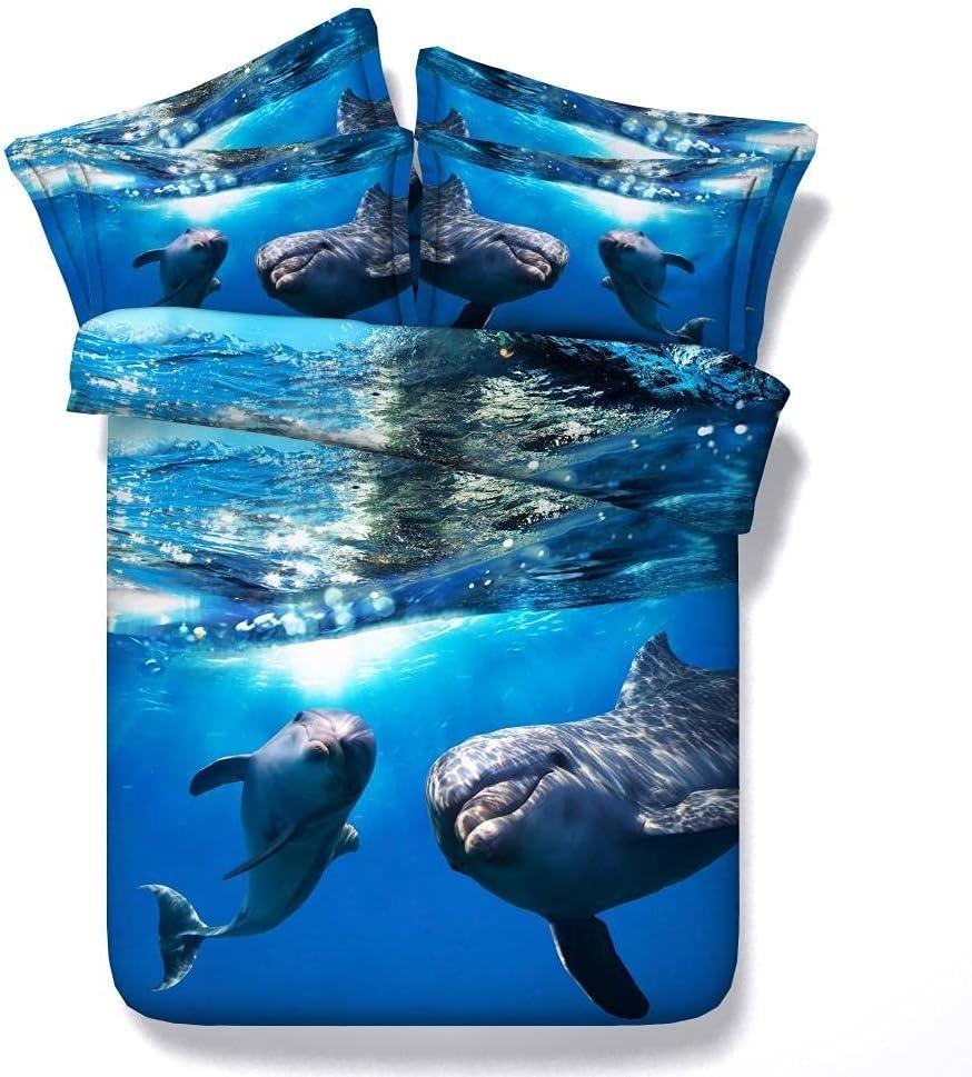 3D Print Duvet Cover Set Size King Single Milwaukee Mall Bed Regular store Double