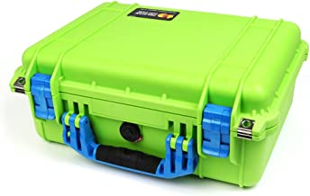 New Pelican Lime Green & Blue 1450 with Foam.