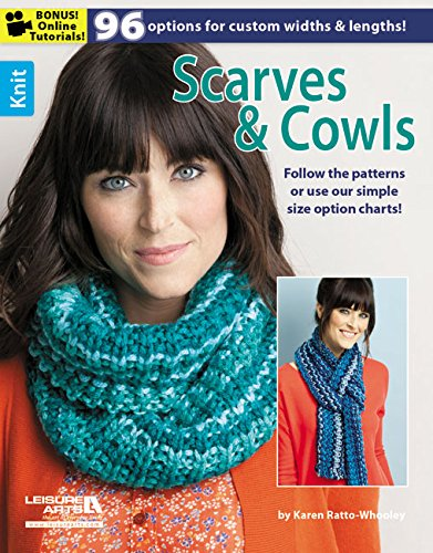 Leisure Arts Knit Scarves and Cowls Book