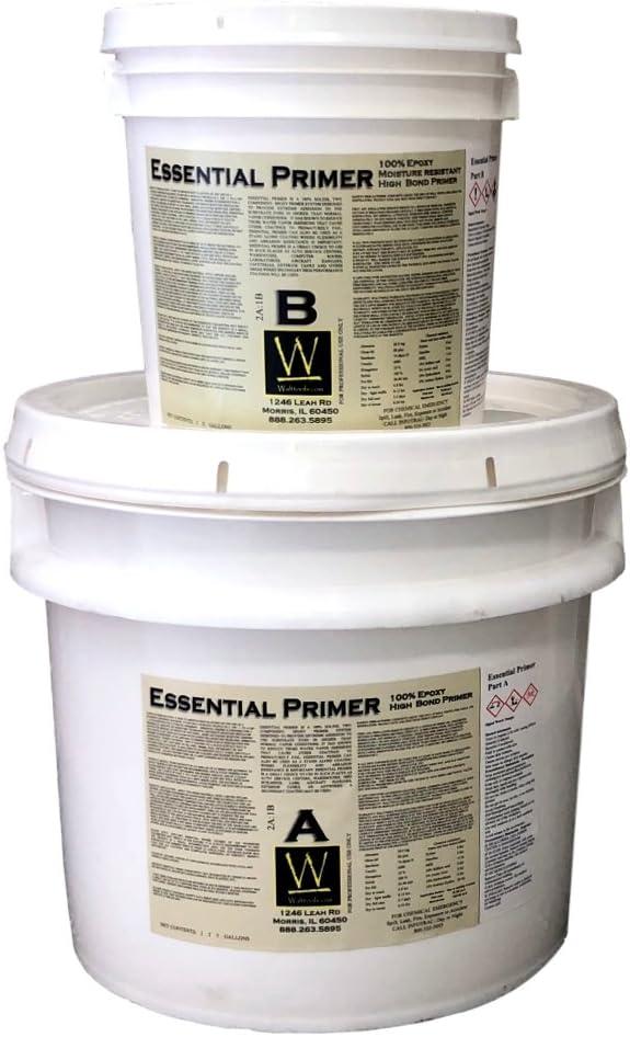 Essential Primer Kit Epoxy Base Quality inspection for Coat Max 67% OFF C Concrete Decorative