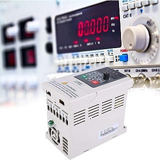 Variador de frecuencia, 0.4KW monofásico a trifásico 220V Variador de frecuencia Motor convertidor convertidor para máquina de grabado, ventilador