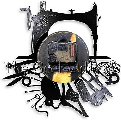 WJHXYD Máquina De Coser Arte De La Pared Hobby Decoración De La ...