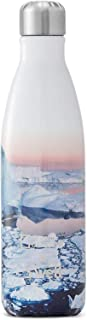 S'well Stainless Steel Water Bottle - 17 Fl Oz - National Geographic Arctic - Triple-Layered Vacuum-Insulated Containers K...