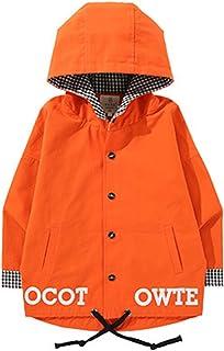 TAOHUA ボーイズ コート ジャケット トレンチコート 子供服 カジュアル 子供 春コート チェック柄