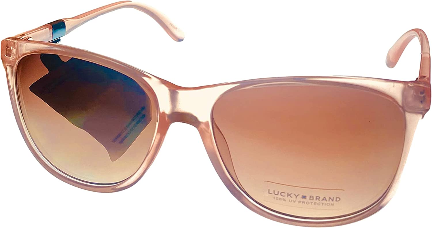 Lucky Women's High San Diego Mall material Losfpin58 Cateye mm Sunglasses Pink 58