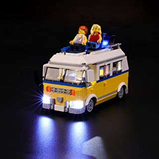 BRIKSMAX Led Lighting Kit for 3in1 Sunshine Surfer Van - Compatible with Lego 31079 Building Blocks Model- Not Include The Lego Set