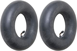 """4.10/3.50-4 Premium Replacement Inner Tube (2 Pack) - Heavy Duty Angle Valve 4.10 x 3.5-4 Tube for 10"""" Pneumatic Tires, Ha..."""