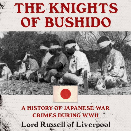 The Knights of Bushido audiobook cover art