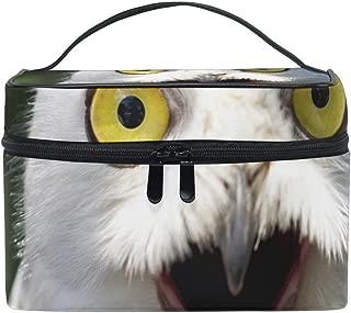 Makeup Bag White Owl Girls Travel Cosmetic Bag Womens Toiletry Organizer