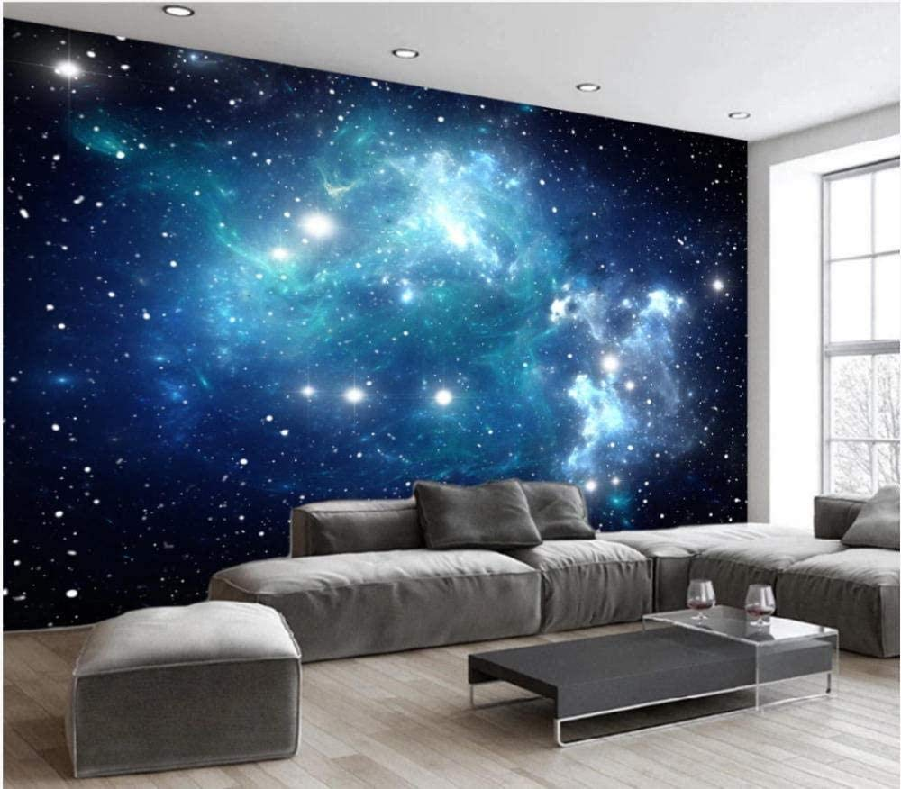 Amazon Co Jp Hxcok 3d壁紙壁の装飾壁画ステッカーシンプルな宇宙星空の星柄の背景アートキッズルーム 130x80cm Diy 工具 ガーデン