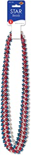 Beistle 50854-RSB 6-Pack Star Beads, 33-Inch