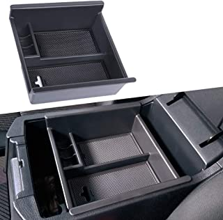 JDMCAR for Toyota 4Runner (2010-2019), Center Console Organizer Insert ABS Black Materials Tray, Armrest Box Secondary Storage
