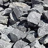 GABIONA Diabas Natursteine Bruch I Gabionen Steine zum Befüllen für Gabionenkörbe für die individuelle Gartengestaltung I Sichtschutz aus Stein Zaunelemente Säulen (63-180 mm, 500 KG)