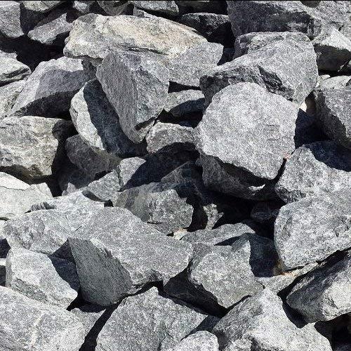 GABIONA Diabas Natursteine Bruch I Gabionen Steine zum Befüllen für Gabionenkörbe für die individuelle Gartengestaltung I Sichtschutz aus Stein Zaunelemente Säulen (45-125 mm, 500 KG)