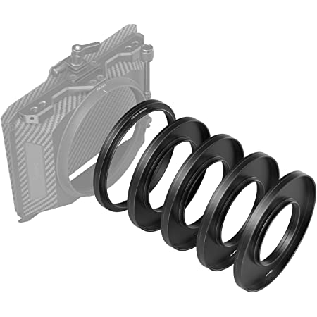 SMALLRIG Kit di Anelli Adattatori (Φ52/55/58/62/86-95mm) - 3383