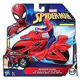 Marvel Spider-Man – Figurine Spider-Man 15 cm et moto- Jouet Spider-Man