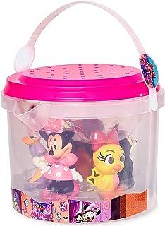 Disney - Minnie Mouse Bath Set of 5 - Minnie Mouse, Daisy Duck, Figaro, Cuckoo Loca, and Fifi