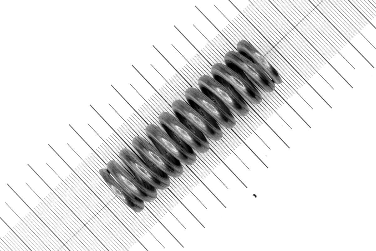 Druckfeder Drahtst/ärke: 4mm Au/ßen /Ø: 20mm Edelstahl Menge:1 St/ück L/änge: 64,4mm