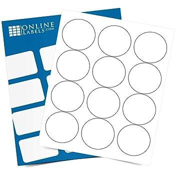 Waterproof Label Stickers Round Paper Craft Scrapbooking 1-200 Number Sticker