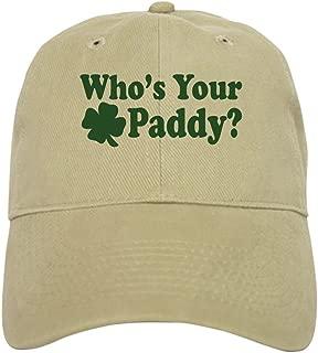 CafePress Who's Your Paddy Cap Baseball Cap