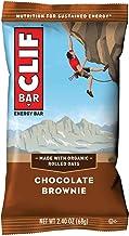 CLIF CLIF BAR Chocolate Brownie - 12 x 68g, 816 g, Chocolate Brownie