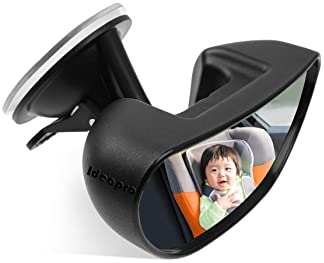 Ideapro Baby Car Backseat Mirror, Rear View Facing Back Seat Mirror Child Safety Rearview Adjustable Forward Baby Mir...