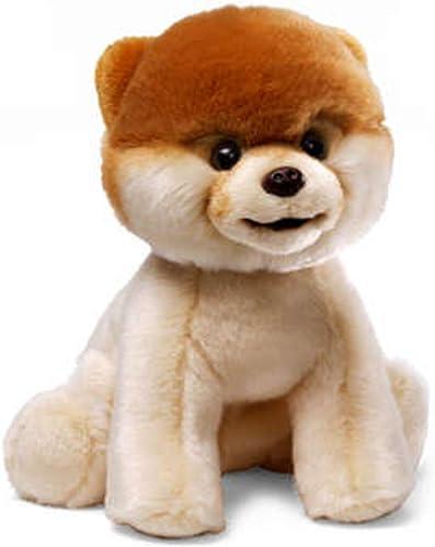 22,9  Boo The World 's Cutest Dog Weiß und seidig Tan Plüsch Stofftier Spielzeug