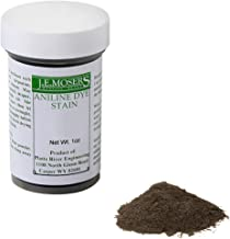 J.E. Moser's 844848, Finishes, Wood Stains & Dyes, Water Soluble Dark Brown Walnut Aniline Dye