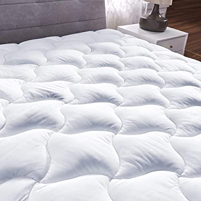 Quilted Fitted Mattress Pad Cover