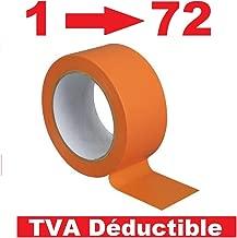 tanstool Ruban Adh/ésif en Cuivre Conducteur /à Double Face Ruban de Cuivre R/ésistant /à la Chaleur pour Blindage EMI Vitrail Circuits Papier R/éparation Electrique Soudure R/épulsif dinsectes 60mm X 25M