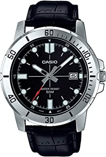 Casio MTP-VD01L-1EV Men's Enticer Stainless Steel Black...