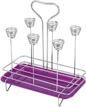 Keukenafvoer Bekerhouder, Droogrekken voor zuigflessen, Drinkglas Afdruiprek met lade voor flessen Spenen Bekers Pomponder...
