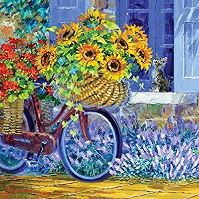 Buffalo Games - Delivery of Sunshine - 300 Large Piece Jigsaw Puzzle from Buffalo Games