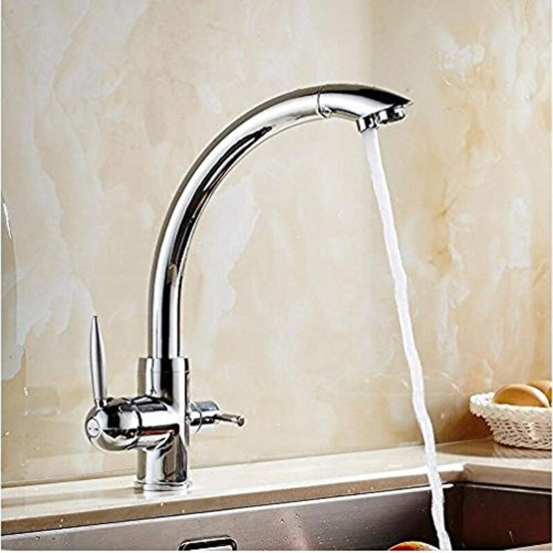 360° redating Faucet Retro Faucet Kitchen Sink Taps Chrome Black Kitchen Faucet