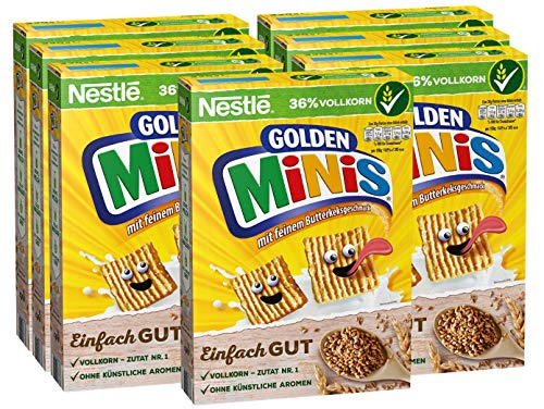 Nestlé Cerealien Golden Minis, Packung, 7er Pack (7 x 330 g)